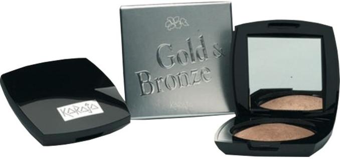 Пудра-бронзант за лице - Karaja Gold & Bronze Powder