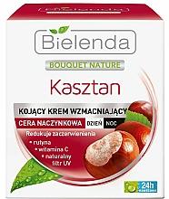 Парфюмерия и Козметика Крем Ден/Нощ за тяло - Bielenda Chestnut Cream Day / Night