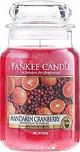 """Парфюми, Парфюмерия, козметика Ароматна свещ """"Мандарина и червена боровинка"""" - Yankee Candle Mandarin Cranberry"""