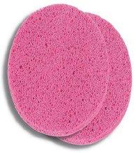 Парфюмерия и Козметика Розови почистващи гъби за лице от целулоза 2 бр. - Donegal