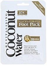 Парфюмерия и Козметика Маска-чорапи за грижа за краката - Xpel Marketing Ltd Coconut Water Foot Pack