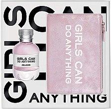 Парфюмерия и Козметика Zadig & Voltaire Girls Can Do Anything - Комплект (парф. вода/50ml + торбичка)