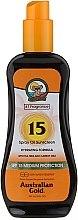 Парфюмерия и Козметика Слънцезащитен спрей - Australian Gold Tea Tree&Carrot Oils Spray SPF15