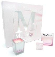 Парфюмерия и Козметика Max Mara Silk Touch - Комплект (edt 90ml + mini 5ml + свещ)