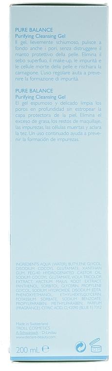 Гел за измиване на лицето - Declare Purifying Cleansing Gel — снимка N2