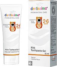 Парфюмерия и Козметика Детска паста за зъби - Dentissimo Kids Toothpaste Caramel