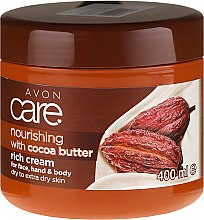 Парфюмерия и Козметика Крем за тяло с какаово масло - Avon Care