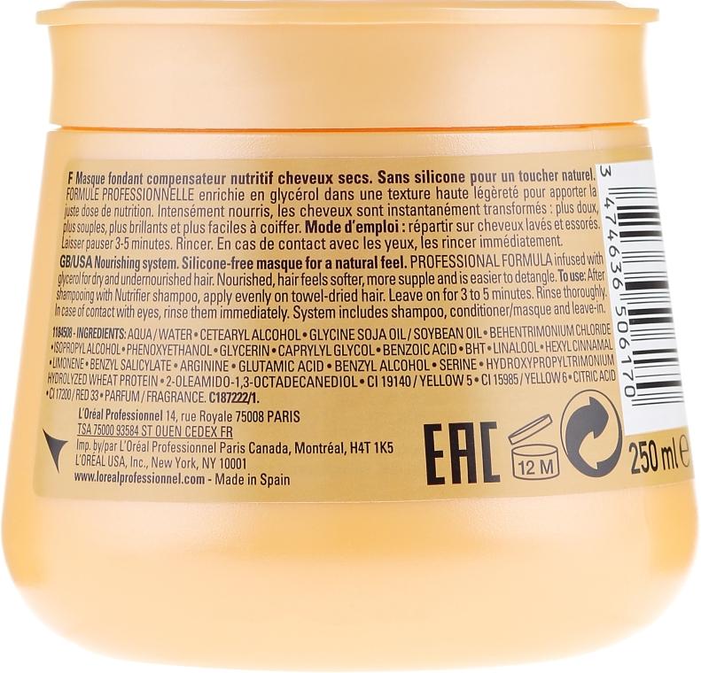 Маска за коса - L'Oreal Professionnel Nutrifier Masque — снимка N2