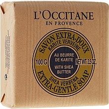 Парфюми, Парфюмерия, козметика Сапун с масло от карите и мляко - L'occitane Shea Butter Extra Gentle Soap-Milk