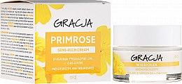 Парфюмерия и Козметика Подхранващ крем с масло от иглика - Gracja Semi-oily Cream With Evening Primrose