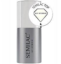 Парфюми, Парфюмерия, козметика Топ за гел-лак - Semilac UV Hybrid