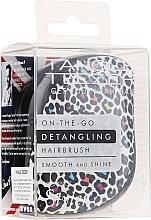 Парфюмерия и Козметика Четка за коса - Tangle Teezer Compact Styler Punk Leopard