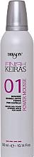 Парфюми, Парфюмерия, козметика Моделиращ мус за коса със силна фиксация - Dikson Finish Keiras Power Mousse