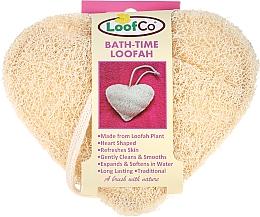 Парфюмерия и Козметика Натурална гъба за баня сърце - LoofCo Body Loofah