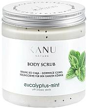 Парфюмерия и Козметика Скраб за крака с евкалипт и мента - Kanu Nature Eucalyptus With Mint Body Scrub