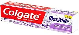Парфюмерия и Козметика Избелваща паста за зъби - Colgate Max White Shine Crystals Toothpaste