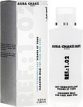 Парфюмерия и Козметика Почистващо мляко за лице и очи - Aura Chake Cleansing Milk Face & Eyes