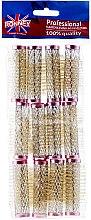 Парфюми, Парфюмерия, козметика Ролки за коса 18/63 мм, розови - Ronney Wire Curlers