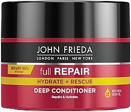 Парфюмерия и Козметика Възстановяваща балсам-маска за изтощена коса - John Frieda Full Repair Deep Conditioner