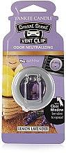 Парфюмерия и Козметика Течен ароматизатор за кола - Yankee Candle Smart Scent Vent Clip Lemon Lavender