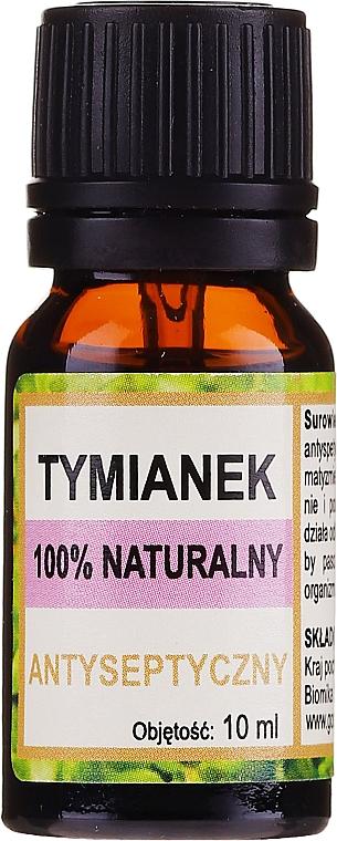 """Натурално етерично масло """"Мащерка"""" - Biomika Thyme Oil"""