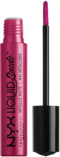 Течно червило за устни - NYX Professional Makeup Liquid Suede Metallic Matte
