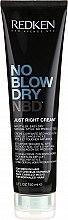 Парфюмерия и Козметика Стилизиращ крем за нормална коса - Redken No Blow Dry Just Right Cream