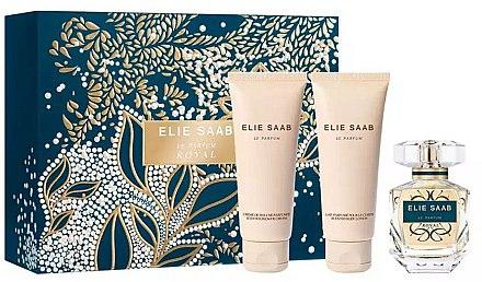 Elie Saab Le Parfum Royal - Комплект (парф. вода/50ml + лосион за тяло/75ml + душ крем/75ml) — снимка N1