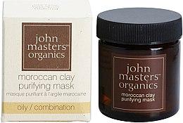Парфюмерия и Козметика Почистваща маска за лице - John Masters Organics Moroccan Clay Purifying Mask