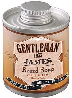 Цитрусово масло за брада - Gentleman 1933 James Beard Soap — снимка N1