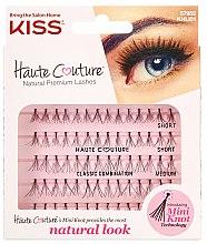 Парфюмерия и Козметика Мигли на снопчета - Kiss Haute Couture Natural Premium Lashes