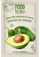 Парфюмерия и Козметика Изглаждаща маска за лице с авокадо - Marion Food for Skin Cream Mask Smoothing Avocado