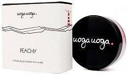 Парфюми, Парфюмерия, козметика Натурален руж за лице - Uoga Uoga Natural Blush Powder With Amber