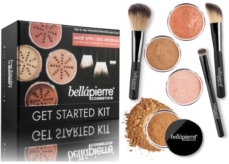 Базов комплект за грим - Bellapierre Get Started Kit Deep — снимка N1