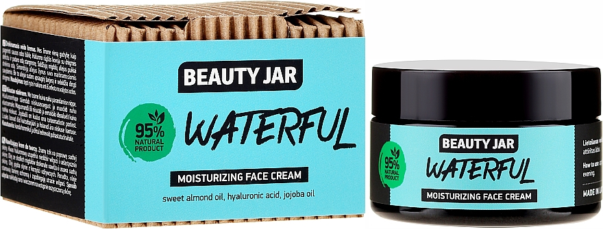 Хидратиращ крем за лице - Beauty Jar Waterful Moisturizing Face Cream