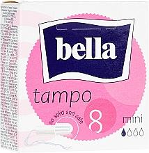 Парфюмерия и Козметика Дамски тампони Tampo Premium Comfort Mini, 8 бр. - Bella