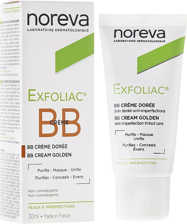 Коригиращ BB крем лице за мазна и проблемна кожа - Noreva Laboratoires Exfoliac BB Cream Anti-imperfection Tinted Care