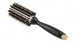 Парфюмерия и Козметика Кръгла четка за коса, 28 мм - Kashoki Hair Brush Natural Beauty