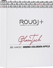 Парфюмерия и Козметика BB крем за лице - Rougj+ GlamTech BB Magic Tinted Cream SPF15