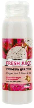 Душ гел-крем с екстракт от питая и макадамия - Fresh Juice Energy Mix Dragon Fruit & Macadamia — снимка N1