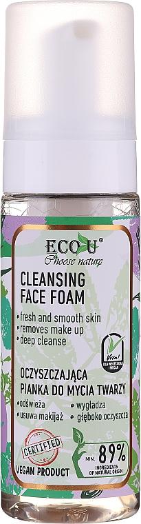 Измиваща пяна за лице - Eco U Cleansing Face Foam