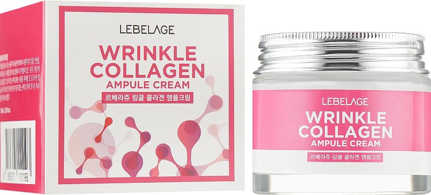Ампулен крем за лице против бръчки с колаген - Lebelage Wrinkle Collagen Ampule Cream