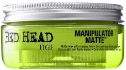 Парфюми, Парфюмерия, козметика Матираща вакса за коса със силна фиксация - Tigi Manipulator Matte