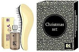 Парфюми, Парфюмерия, козметика Комплект за коса - KayPro Dtangler Christmas Set (четка/1бр + масло/50ml)