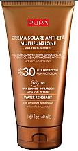Парфюмерия и Козметика Антистареещ слънцезащитен крем за лице и деколте - Pupa Anti-Aging Sunscreen Cream SPF 30