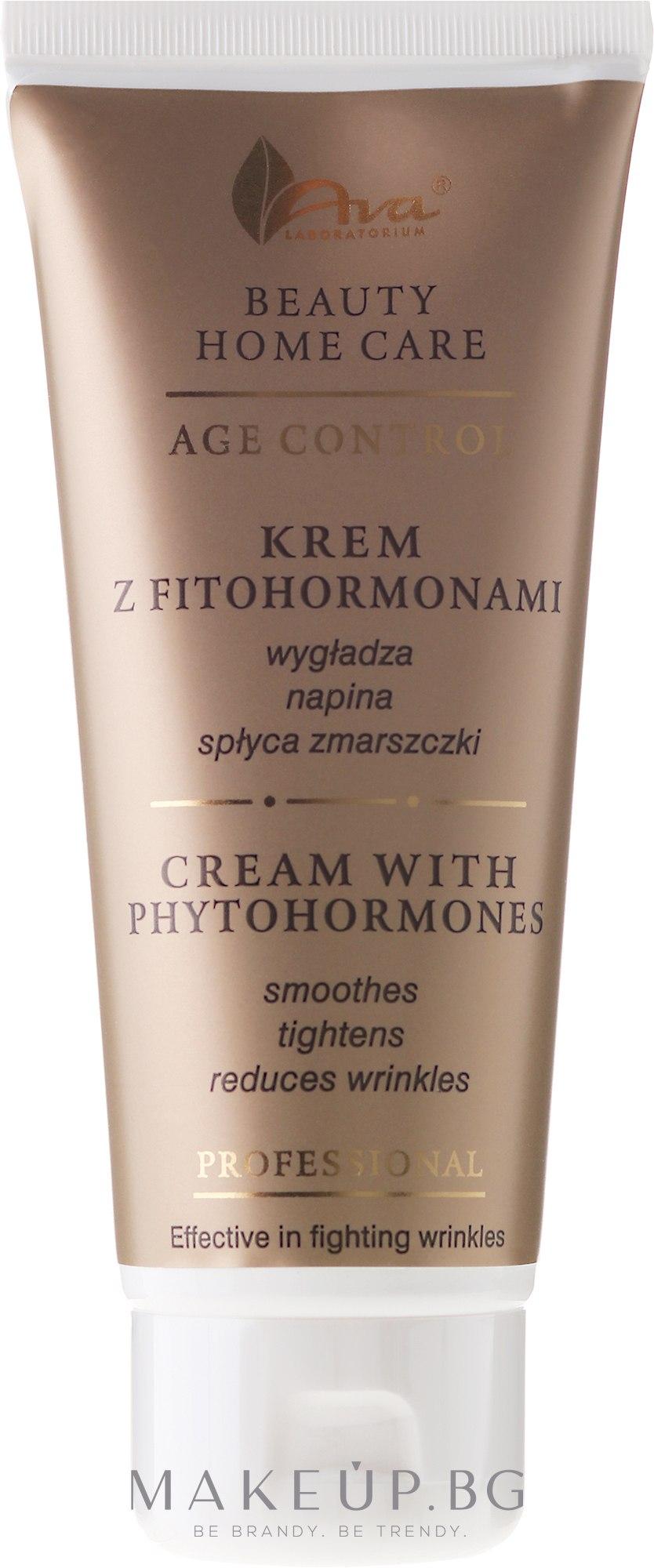 Крем за лице с фитохормони - Ava Laboratorium Beauty Home Care Cream With Phytohormones — снимка 100 ml