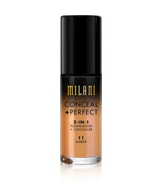 Фон дьо тен и коректор за лице 2в1 - Milani Conceal Perfect 2-In-1 Foundation + Concealer