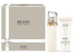 Парфюми, Парфюмерия, козметика Hugo Boss Jour Pour Femme - Комплект (edp 30ml + b/lot 100ml)