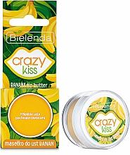 """Парфюмерия и Козметика Масло за устни """"Банан"""" - Bielenda Crazy Kiss Banana Lip Butter"""