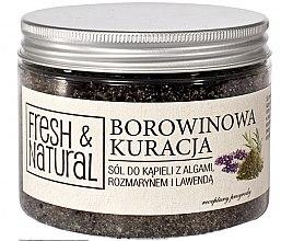 Парфюми, Парфюмерия, козметика Релаксиращи соли за вана с водорасли, розмарин и лавандула - Fresh&Natural